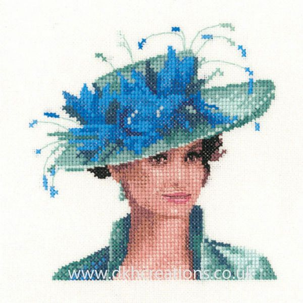 Josephine Miniature Evenweave Cross Stitch Kit